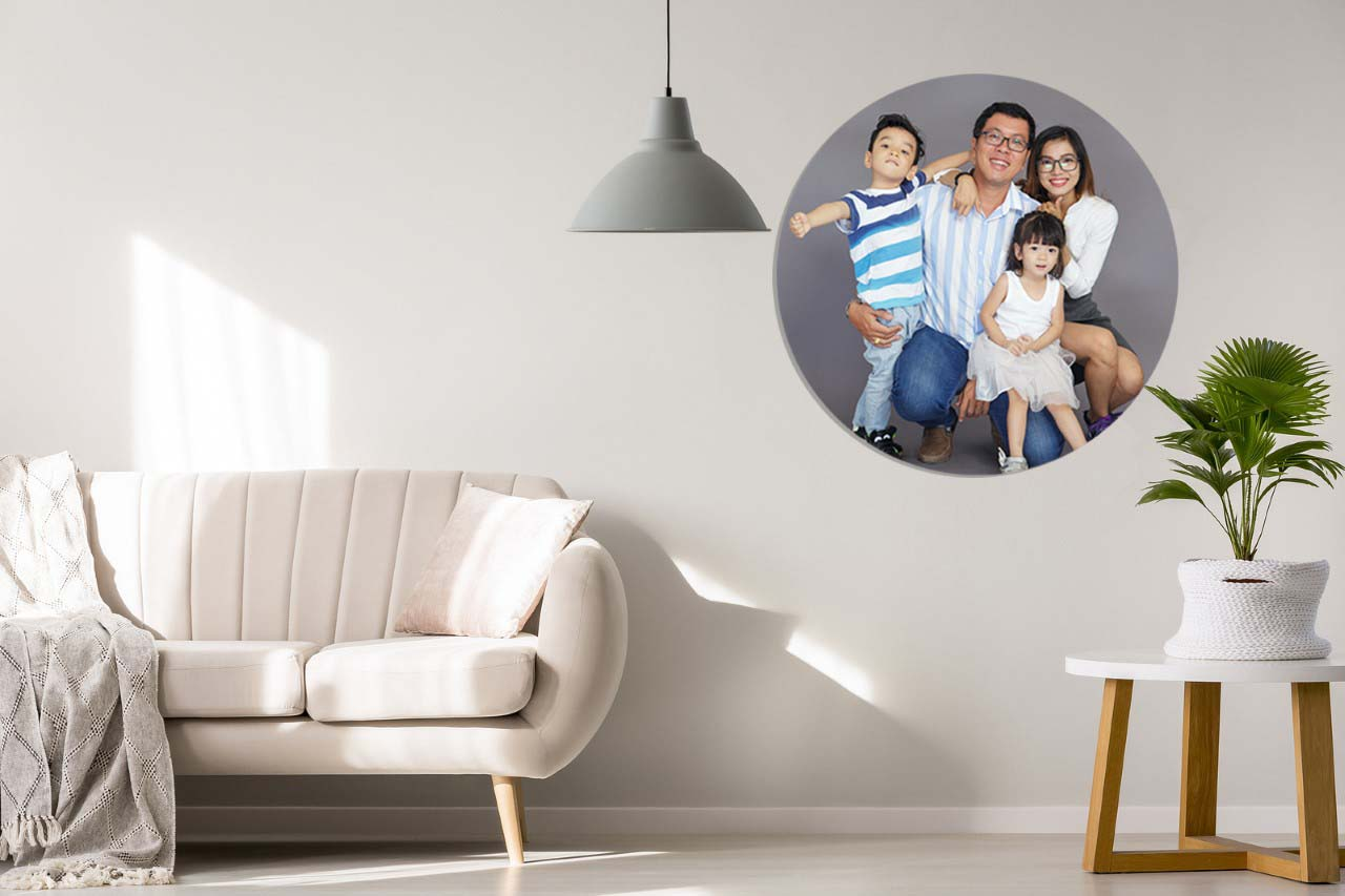 family photo - 10 year wedding anniversary gift idea