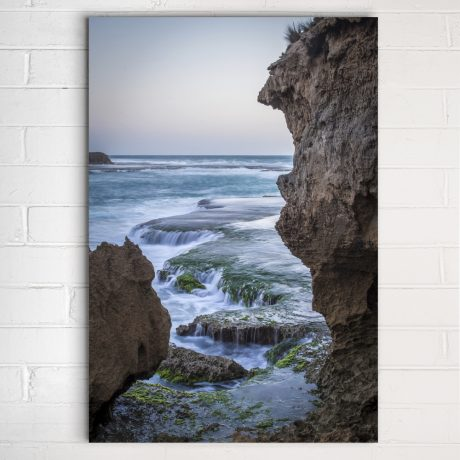European frame example - metal print