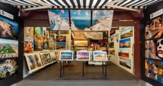 @andrew.bertuleit.photography has an amazing selection of images from all around the globe available from his stand at the Vic Market in Melbourne or via his website. Love that he has chosen metal prints to showcase his stand out collection. * * * #andrewbertuleitphotography #vicmarket #melbourestreetphotography #melbournephotographers #australianphotographer #printsforsale #photographyaustralia #queenvictoriamarket #metalphotography #metalprints #print2metal #affordableart #travelphotography #beachphotography #aerialphotography #whattodoinmelbourne #findaphotographeraustralia #thebrownbilleffect