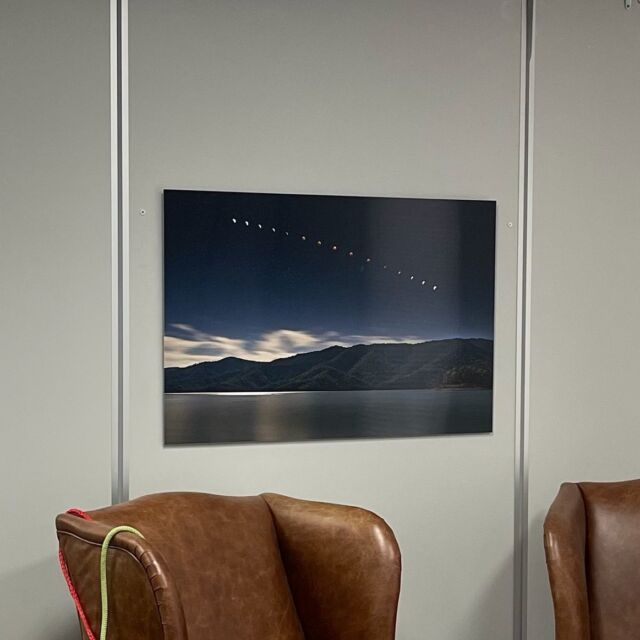 An excited client had this image by @justin_cooper73 hanging on his wall before we returned from personally delivering it. The Eildon blood moon image took our breath away......and we see a lot of amazing photos ! * * * #justincooperphotography #photography #bloodmoon #astrophotography #eildon #superbloodmooneclipse #superbloodmoon #melbournetouristguide #landscapephotographer #australianartist #australianphotographer #metalprints #print2metal #chromaluxe #wallart #affordableart #breathtakingview #melbourneprinter #photolab #artprints