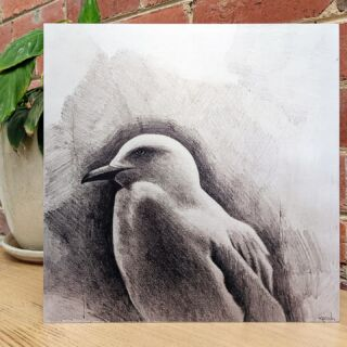 Original artwork can be beautifully reproduced and preserved for generations to come as this fabulous piece from customer Ambrose Reisch demonstrates.  Printed on our Brushed Matt Metal, the quality of the original graphite sketch truly comes to life with the characteristic natural silver base of the metal.  Brushed Matt prints are equally stunning for colour artworks and photographs and provide a distinctive aesthetic not found with any other printing medium.  •  •  •  #print2metal #metalprints #chromaluxe #affordableart #australianphotographer #contemporaryart #homedecor #wallart #artlover #artoftheday #australianmade #melbourneprinter #stylishdisplay #innovativeimages #homeoffice