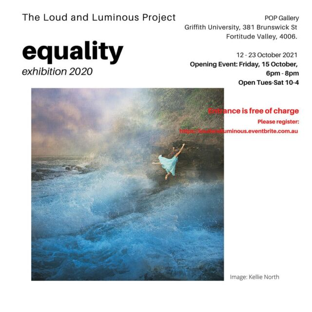 The @loudandluminous exhibition is finally happening at POP Gallery @qcagriffith 12-23 October 2021.  Thanks to @mgadventures and @hilarywardhaugh and all sponsors including @fujifilmx_au @kayellaustralia @professionalphotographers_ib @momentopro @damiancaniglia @cansoninfinity @print_2_metal  Register for opening this Friday evening 15th October at https://www.loud and luminous.eventbrite.com.au
